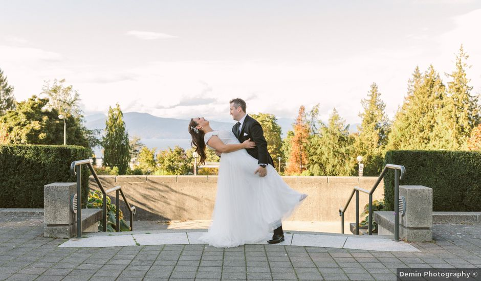 Sam and Nat's wedding in Vancouver, British Columbia