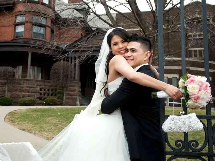 The wedding of Katrina and Andrew