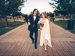 The wedding of Irene  and Michael