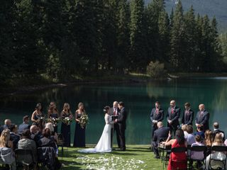 The wedding of Julia and Tanner 1