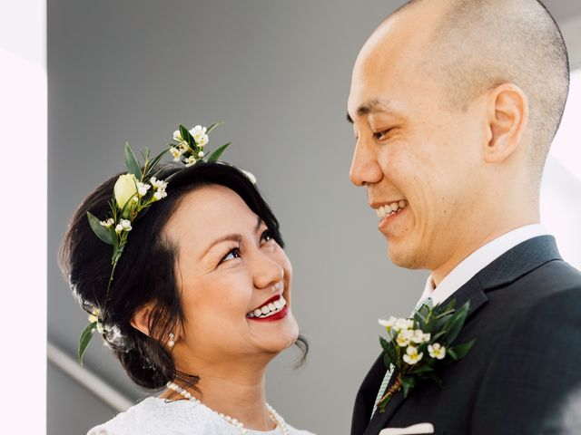 Vince and Prudence's wedding in Toronto, Ontario 6