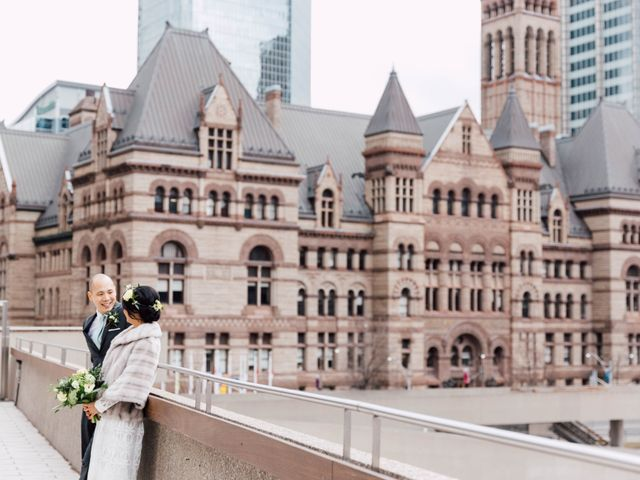 Vince and Prudence's wedding in Toronto, Ontario 8