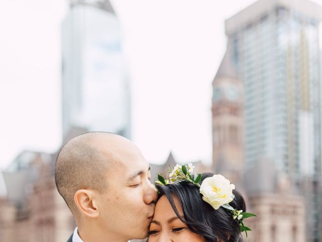 Vince and Prudence's wedding in Toronto, Ontario 9