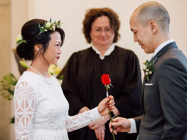 Vince and Prudence's wedding in Toronto, Ontario 13