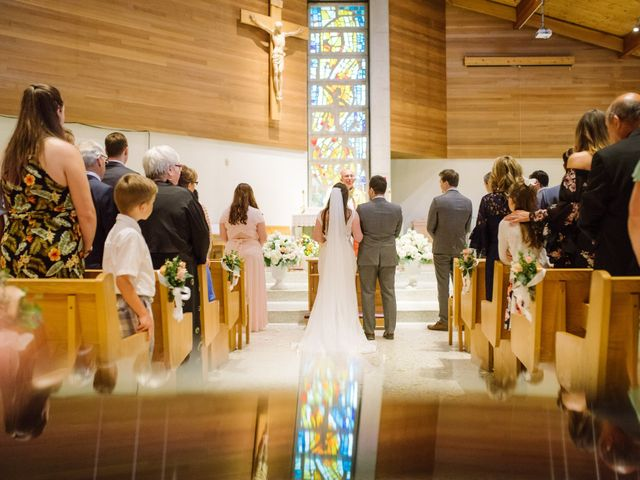 Ryan and Melissa's wedding in Burnaby, British Columbia 3