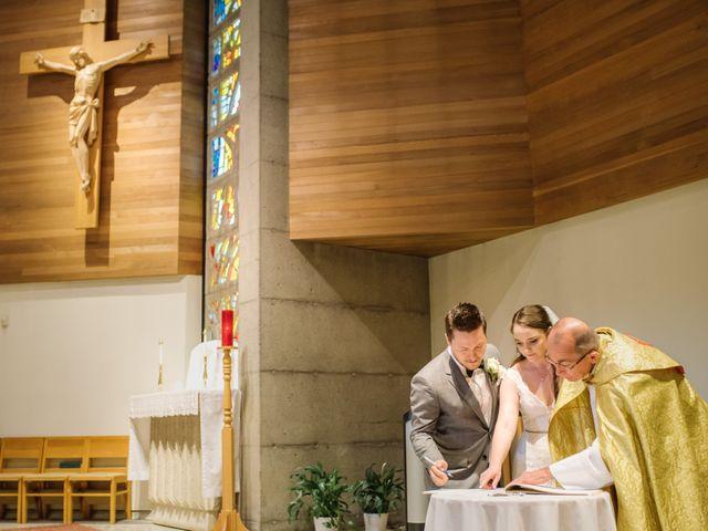 Ryan and Melissa's wedding in Burnaby, British Columbia 5