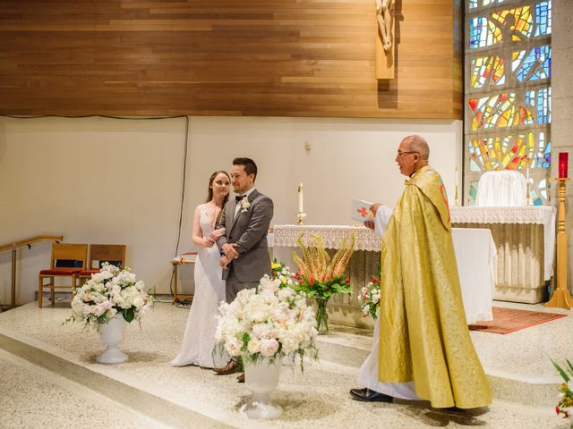 Ryan and Melissa's wedding in Burnaby, British Columbia 6