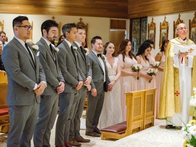 Ryan and Melissa's wedding in Burnaby, British Columbia 8