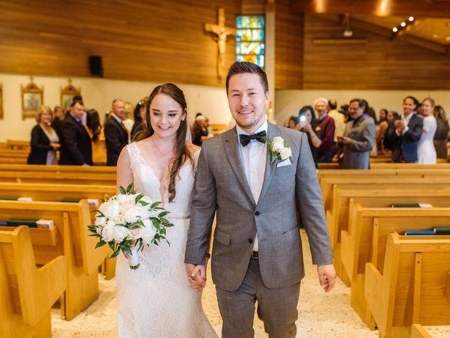 Ryan and Melissa's wedding in Burnaby, British Columbia 9