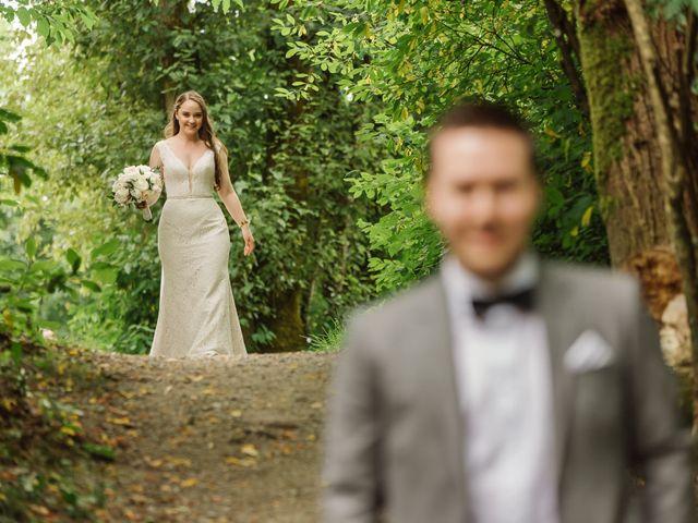 Ryan and Melissa's wedding in Burnaby, British Columbia 13