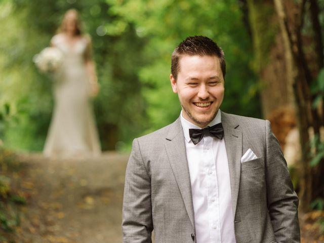 Ryan and Melissa's wedding in Burnaby, British Columbia 14