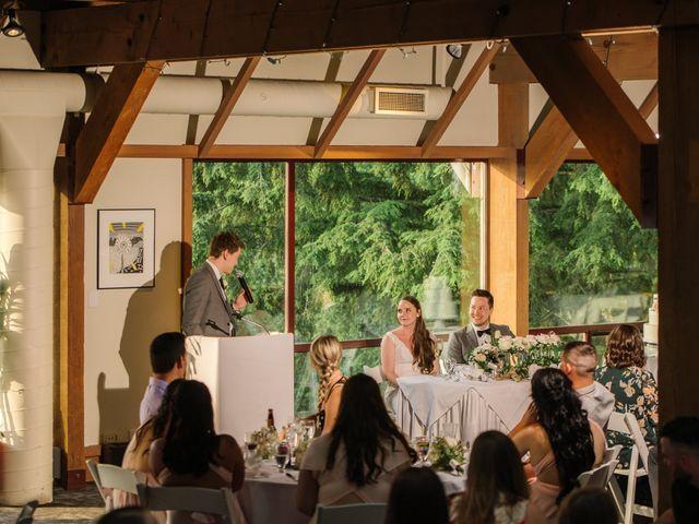 Ryan and Melissa's wedding in Burnaby, British Columbia 22