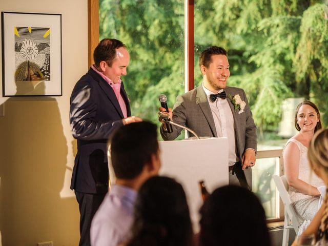 Ryan and Melissa's wedding in Burnaby, British Columbia 24