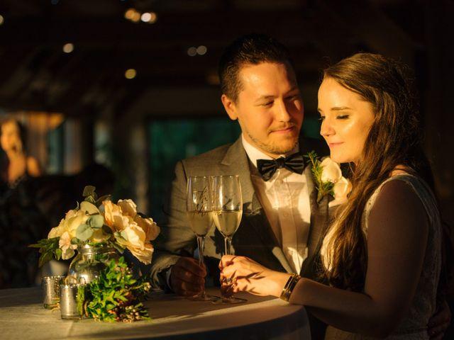 Ryan and Melissa's wedding in Burnaby, British Columbia 1