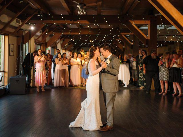 Ryan and Melissa's wedding in Burnaby, British Columbia 32