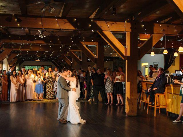 Ryan and Melissa's wedding in Burnaby, British Columbia 33
