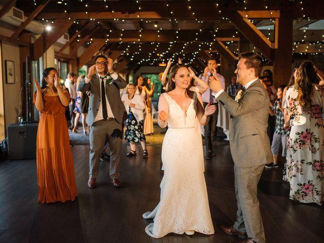 Ryan and Melissa's wedding in Burnaby, British Columbia 34