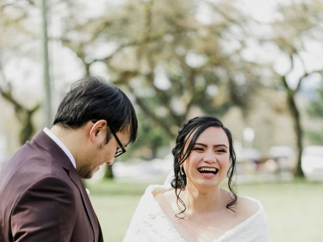 Eison and Mary Tone's wedding in Burnaby, British Columbia 17