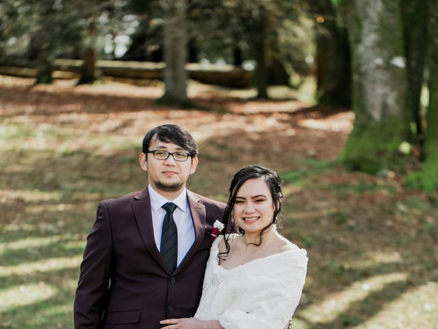 Eison and Mary Tone's wedding in Burnaby, British Columbia 18
