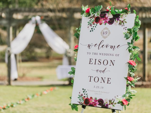 Eison and Mary Tone's wedding in Burnaby, British Columbia 1