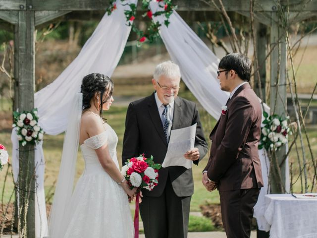 Eison and Mary Tone's wedding in Burnaby, British Columbia 2