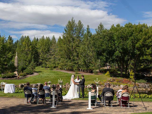 Donovan and Natalie's wedding in Edmonton, Alberta 1