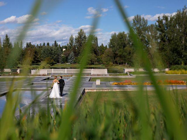 Donovan and Natalie's wedding in Edmonton, Alberta 14