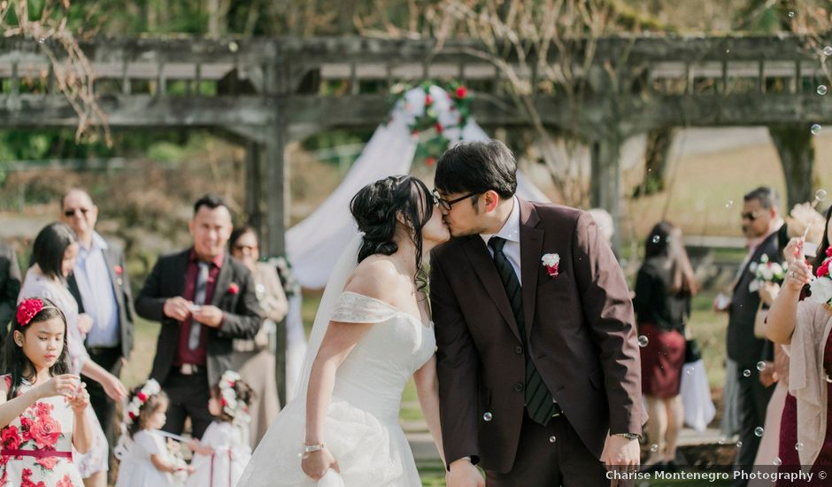 Eison and Mary Tone's wedding in Burnaby, British Columbia
