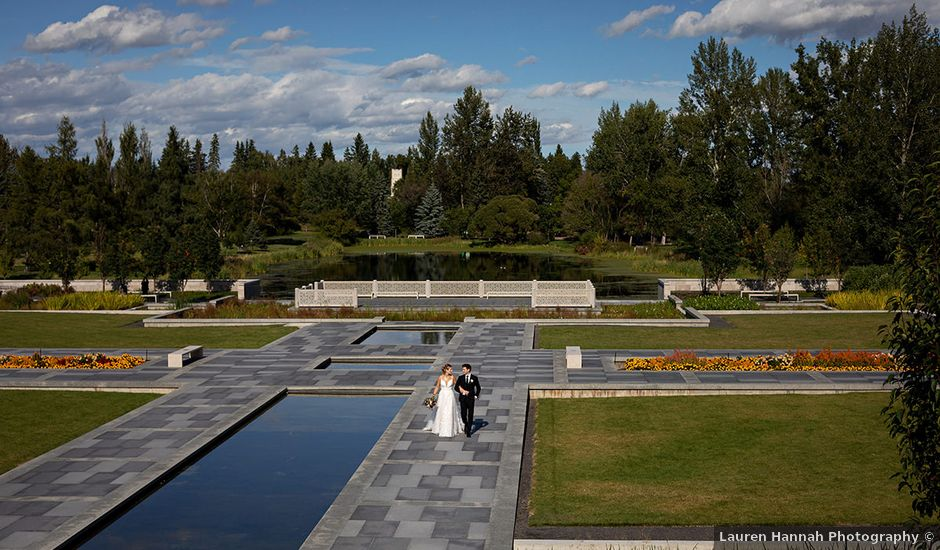 Donovan and Natalie's wedding in Edmonton, Alberta