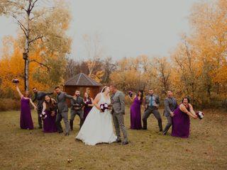 The wedding of Tori and Kael