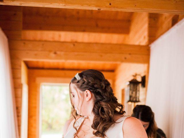 Kael and Tori's wedding in Elma, Manitoba 5