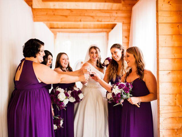 Kael and Tori's wedding in Elma, Manitoba 15
