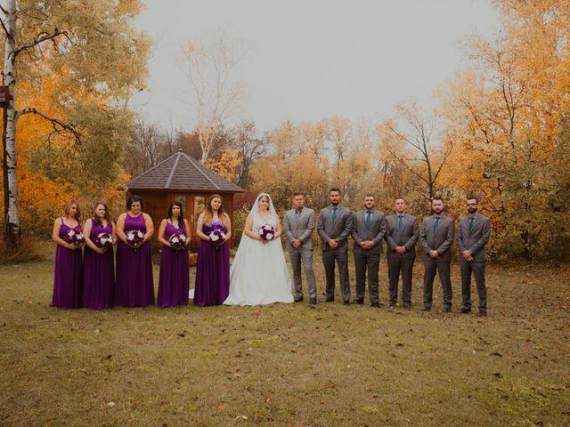 Kael and Tori's wedding in Elma, Manitoba 22