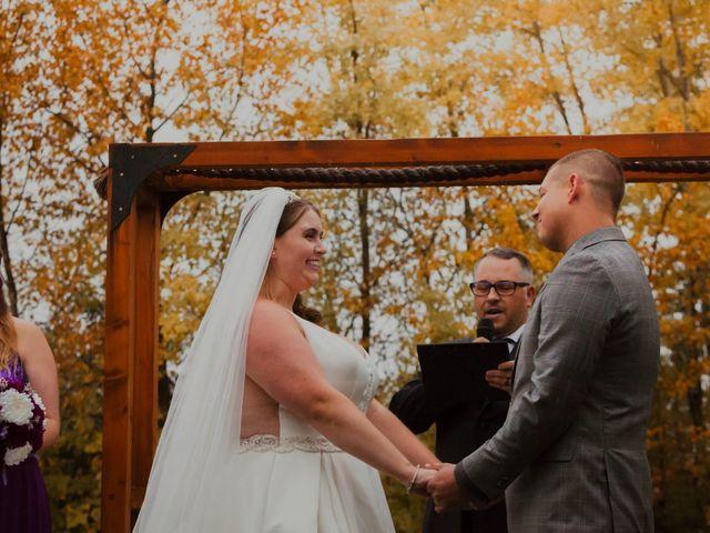 Kael and Tori's wedding in Elma, Manitoba 32
