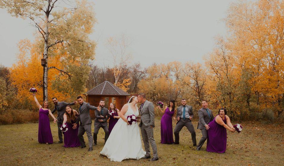 Kael and Tori's wedding in Elma, Manitoba