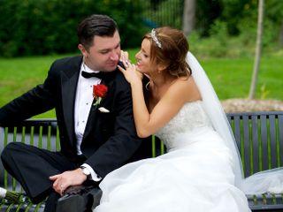 The wedding of Paulina and Paul