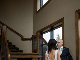 The wedding of Lisa and Gavin 1