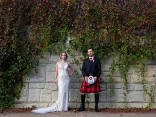 The wedding of Alison and Scott