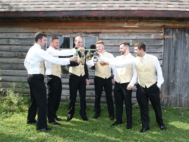 Angelina and Justin's wedding in Casselman, Ontario 24