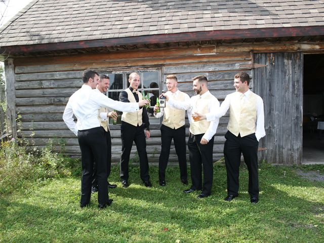 Angelina and Justin's wedding in Casselman, Ontario 25