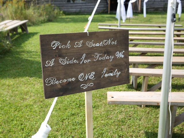 Angelina and Justin's wedding in Casselman, Ontario 27