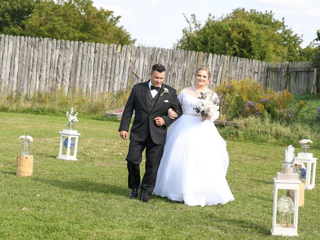 Angelina and Justin's wedding in Casselman, Ontario 32