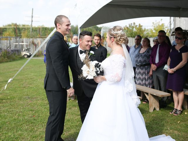 Angelina and Justin's wedding in Casselman, Ontario 34
