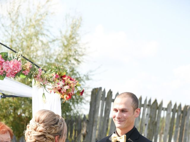 Angelina and Justin's wedding in Casselman, Ontario 37