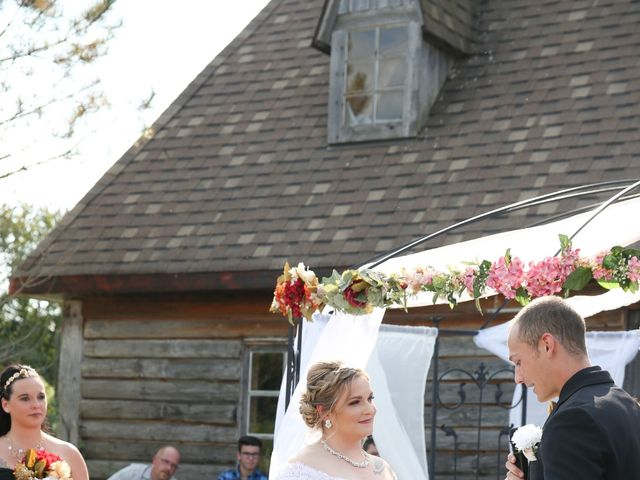 Angelina and Justin's wedding in Casselman, Ontario 39