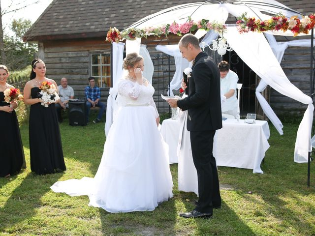 Angelina and Justin's wedding in Casselman, Ontario 41