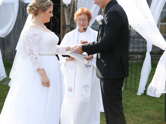 Angelina and Justin's wedding in Casselman, Ontario 42