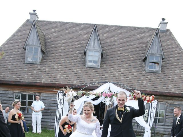 Angelina and Justin's wedding in Casselman, Ontario 50