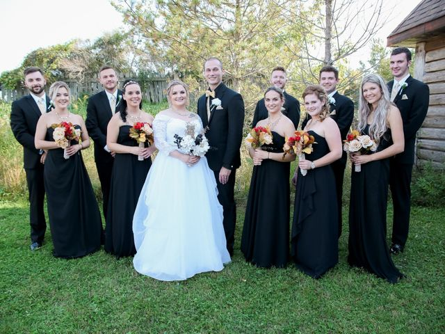 Angelina and Justin's wedding in Casselman, Ontario 55