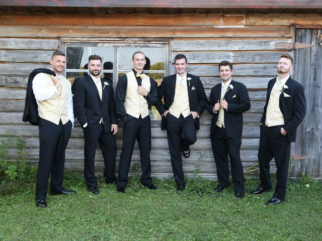 Angelina and Justin's wedding in Casselman, Ontario 62